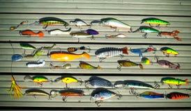 Διάφορα δολώματα για τη σύλληψη των αρπακτικών ψαριών στην περιστροφή στοκ φωτογραφίες με δικαίωμα ελεύθερης χρήσης