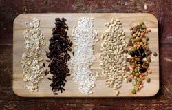 Διάφορα είδη σιταριών Στοκ Εικόνες