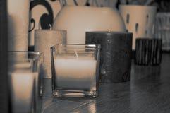 Διάφορα διαφορετικά κεριά στοκ φωτογραφίες