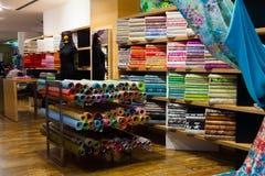 Διάφορα κλωστοϋφαντουργικά προϊόντα για την πώληση Στοκ Εικόνες