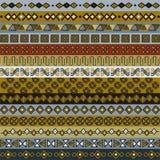 Διάφορα μοτίβα λουρίδων για το σχέδιο Στοκ εικόνες με δικαίωμα ελεύθερης χρήσης
