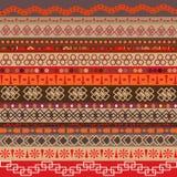 Διάφορα μοτίβα λουρίδων που χρωματίζονται Στοκ φωτογραφία με δικαίωμα ελεύθερης χρήσης
