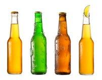 Διάφορα μπουκάλια της μπύρας Στοκ Φωτογραφία
