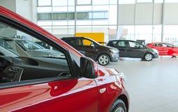 Διάφορα νέα αυτοκίνητα Στοκ Φωτογραφίες