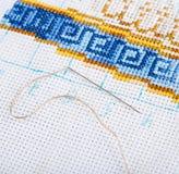 Διάφορα ράβοντας εξαρτήματα Στοκ εικόνα με δικαίωμα ελεύθερης χρήσης