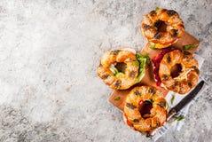 Διάφορα bagels σάντουιτς Στοκ φωτογραφία με δικαίωμα ελεύθερης χρήσης