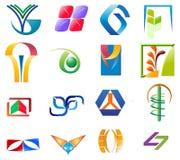 Διάφορα colletions λογότυπων Στοκ Φωτογραφία