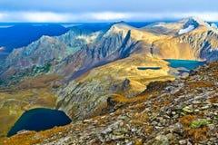 Διάφορες λίμνες βουνών στον Καύκασο Στοκ φωτογραφίες με δικαίωμα ελεύθερης χρήσης