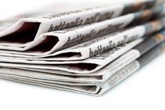 Διάφορες εφημερίδες Στοκ Φωτογραφία