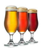Διάφορη μπύρα στοκ εικόνες με δικαίωμα ελεύθερης χρήσης