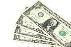 Διάφοροι λογαριασμοί σε ένα αμερικανικό δολάριο Στοκ φωτογραφίες με δικαίωμα ελεύθερης χρήσης