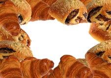 Διάφοροι ρόλοι θίχουλων τύπων γλυκών Στοκ φωτογραφία με δικαίωμα ελεύθερης χρήσης