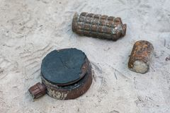 Διάφοροι τύποι βομβών στοκ φωτογραφία με δικαίωμα ελεύθερης χρήσης