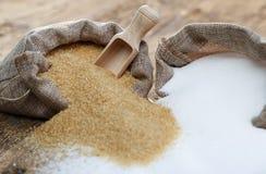 Διάφοροι τύποι ζαχαρών στοκ εικόνες με δικαίωμα ελεύθερης χρήσης