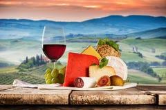 Διάφοροι τύποι ιταλικών τυριών στοκ εικόνες με δικαίωμα ελεύθερης χρήσης