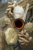 Διάφοροι τύποι κατακορύφων ρυζιού στοκ εικόνες με δικαίωμα ελεύθερης χρήσης