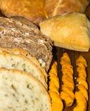 Διάφοροι τύποι ψωμιών στοκ εικόνες