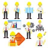Διάφορο επαγγελματικό ανθρώπων γραφικό σύνολο απεικόνισης επαγγέλματος διανυσματικό διανυσματική απεικόνιση