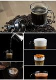 Διάφορο διάσημο παγωμένο πρότυπο καφέ Στοκ φωτογραφία με δικαίωμα ελεύθερης χρήσης