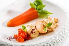 Διάφορο πιάτο καρότων Στοκ Φωτογραφία