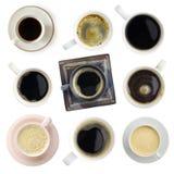 Διάφορο σύνολο καφέ Στοκ Φωτογραφία