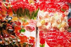 Διάφορο Lollipops για την πώληση Στοκ εικόνες με δικαίωμα ελεύθερης χρήσης