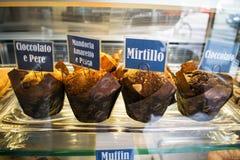 Διάφορο muffin Στοκ Εικόνες