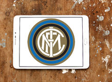 Διά λογότυπο λεσχών ποδοσφαίρου του Μιλάνου Στοκ Φωτογραφίες