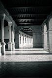 Διάδρομοι και στυλοβάτες Plaza de Espana στη Σεβίλη, Ισπανία, ευρο- Στοκ Φωτογραφία