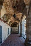 Διάδρομοι μέσα στο μοναστήρι Arequipa Περού Santa Catalina Στοκ φωτογραφίες με δικαίωμα ελεύθερης χρήσης