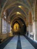 Διάδρομοι του καθεδρικού ναού του Burgos, Ισπανία στοκ εικόνα με δικαίωμα ελεύθερης χρήσης