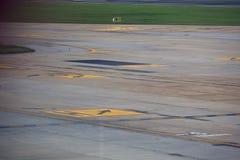 Διάδρομος αερολιμένων Στοκ Εικόνα