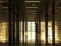 Διάδρομος γυμνασίου Στοκ φωτογραφίες με δικαίωμα ελεύθερης χρήσης