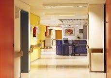 Διάδρομος νοσοκομείων ζωηρόχρωμος Στοκ εικόνες με δικαίωμα ελεύθερης χρήσης