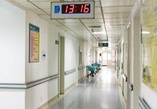 Διάδρομος νοσοκομείων Στοκ Εικόνα