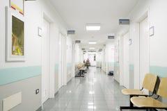 Διάδρομος νοσοκομείων Στοκ Φωτογραφίες