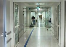 Διάδρομος νοσοκομείων Στοκ εικόνα με δικαίωμα ελεύθερης χρήσης