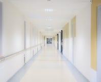 Διάδρομος νοσοκομείων Στοκ εικόνες με δικαίωμα ελεύθερης χρήσης