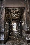 Διάδρομος οικοδόμησης κοιλωμάτων ορυχείου στοκ εικόνες