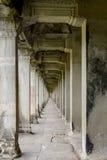Διάδρομος σε Angkor Wat Στοκ Φωτογραφίες