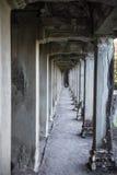 Διάδρομος σε Angkor Wat Στοκ Εικόνες
