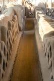 Διάδρομος σε Chan Chan Στοκ φωτογραφία με δικαίωμα ελεύθερης χρήσης