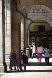 Διάδρομος σε Plaza δήμαρχος Madrid) (8) Στοκ Εικόνες