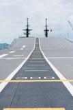 Διάδρομος στην απογείωση στο θωρηκτό Στοκ Εικόνες