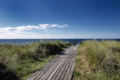 Διάδρομος στον ωκεανό Στοκ φωτογραφία με δικαίωμα ελεύθερης χρήσης