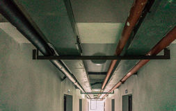 Διάδρομος σωληνώσεων στοκ φωτογραφίες με δικαίωμα ελεύθερης χρήσης