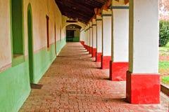 Διάδρομος της αποστολής SAN Miguel Arcangel Στοκ εικόνες με δικαίωμα ελεύθερης χρήσης