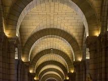 Διάδρομος του καθεδρικού ναού του Μονακό Στοκ φωτογραφίες με δικαίωμα ελεύθερης χρήσης