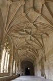 Διάδρομος του μοναστηριού Jeronimos στο Βηθλεέμ στοκ φωτογραφία με δικαίωμα ελεύθερης χρήσης