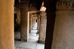 Διάδρομος του ναού καταστροφών του TA Phrom, Angkor Wat, Καμπότζη Στοκ φωτογραφίες με δικαίωμα ελεύθερης χρήσης